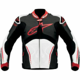 Motor Bike Aplinstar Leather Jacket
