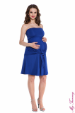 pregnancy clothing Maternity dress Marylin cobalt blue 2.jpg