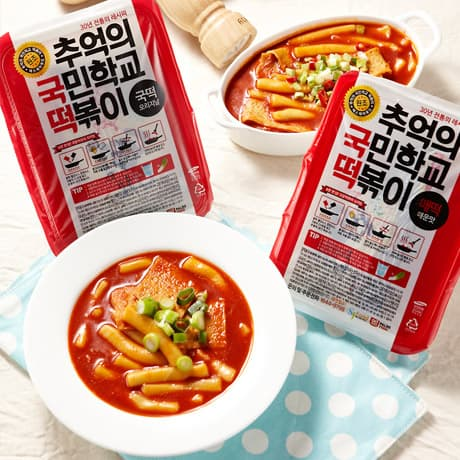 Tteok-bokki Korean-s best Snack Rice Cake