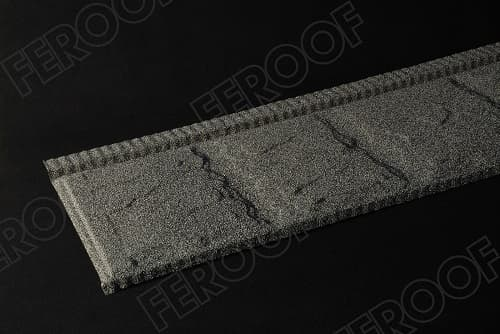Stone Chip Coated Steel Roof Tiles_SLATE