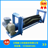 belt conveyor system brush belt cleaner