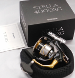 SHIMANO STELLA 4000XG Spinning Reel From Japan