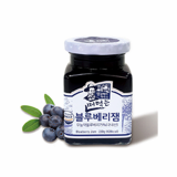 Spooned Blueberry Jam