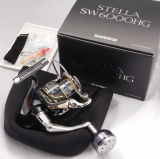 SHIMANO STELLA SW 6000HG Spinning Reel From Japan