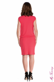 maternity clothes Maternity dress Lucy coral back.jpg