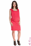 maternity clothes Maternity dress Lucy coral.jpg
