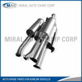 All kinds of Muffler Assy for Korean Vehicles - Miral Auto Camp Corp