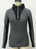 Ladies Athlesure Turtle Neck Zip Up