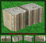 RYMAX Foam Cement Board - Exterior Drywall - Wall Partition - Prefabricated House Panel