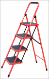 steel ladder  household ladder 4 rungs