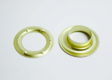 33mm brass eyelets