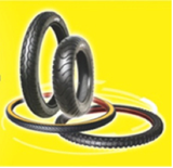 Tubes and tyres for motocycle and bicycle