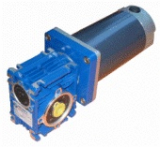 SMALL DC MAGNET WORM GEARED MOTOR