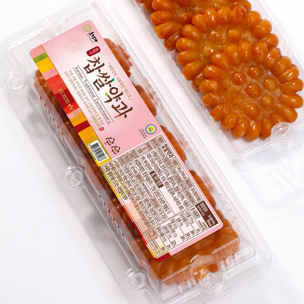 Hojeongga Yakgwa _5EA_ _Deep_fried Sweet Rice Cake_