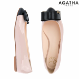 -Agatha- Square Ribbon Flat