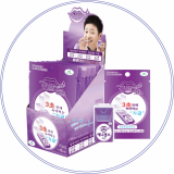 edible film type breath refreshing strips AnySense Grape & Red Ginseng