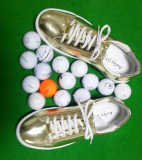 Footwear_ Golf shoes_ Spike less Golf shoes