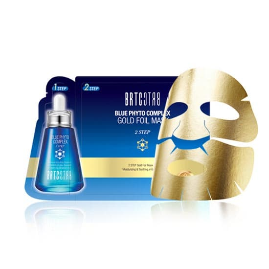 BRTC Gold Foil Mask 2 STEP