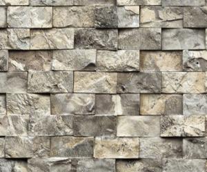 124 2 3D design brick stone rock pvc vinyl wall decoration