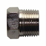 stainless ASTM A182 F316N hex head plug