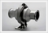 Sanitary Check Valve, Manual (Stainless), High-Performance