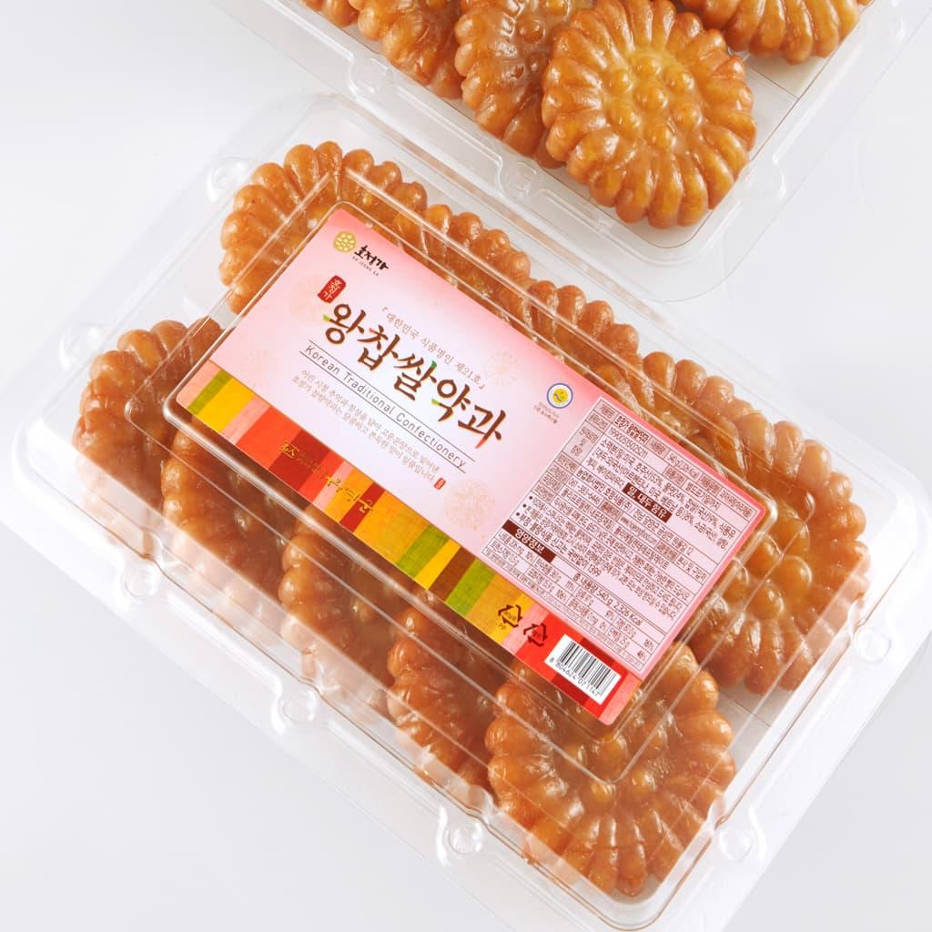Hojeongga Big Yakgwa _10EA_ _Deep_fried Sweet Rice Cake_