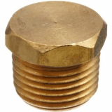 stainless ASTM A182 F316l hex head plug