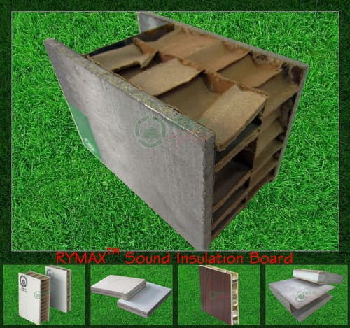 Acoustic Insulation Services : Rymax sound insulation board soundproof acoustic