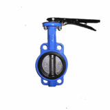 Rubber Seal Wafer Type Butterfly Valve