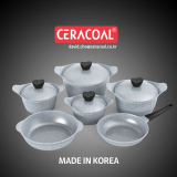 CERACOAL GRANITE COOKWARE SET