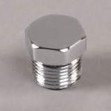 stainless ASTM A182 F304h hex head plug