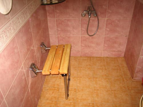 Folding Shower-Bath Seat-Bench No-100-1