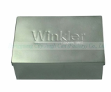 Jingli 0_25mm thickness tinplate package box with embossing