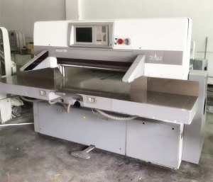 Product Thumnail Image Zoom Polar 115XC Paper Cutting Machinery For Printing Industry
