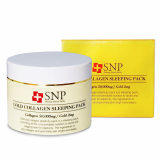 SNP Gold Collagen Sleeping Pack