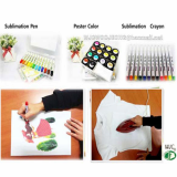 Sublimation Pen-Crayon-Poster color