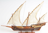 Wooden Model Boat Xebec L80