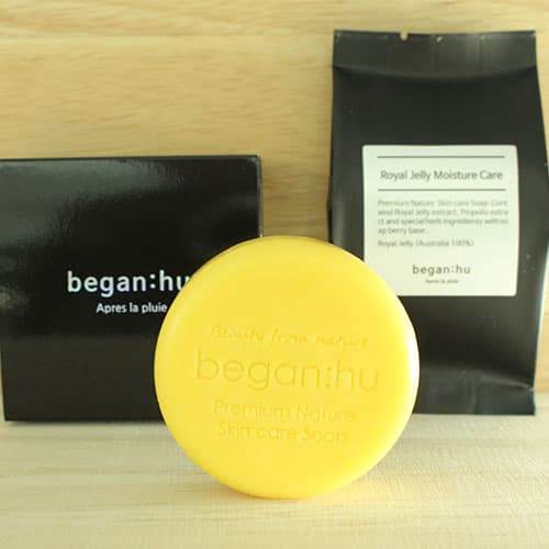 beganhu Royal Jelly Moisture Care soap