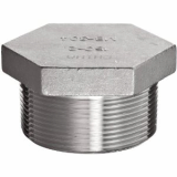 stainless ASTM A182 F304 hex head plug