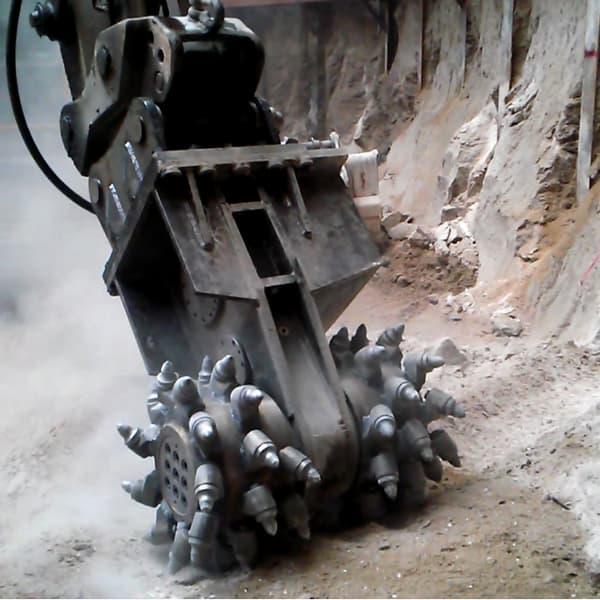 Rock Grinder Rockwheel Drum Cutter Tunnel Trench