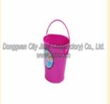 Various colors and designs tinplate ice bucket with tinplate