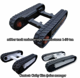 rubber track undercarriage for custom design
