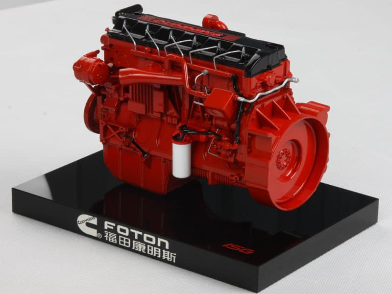 Diecast Foton Cummins Engine Model From Shenzhen Shinbok