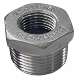 stainless ASTM A182 F348 hex head bushing