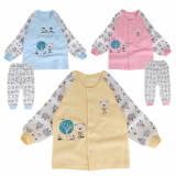_house_ double layer long sleeves pajama set