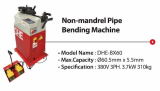 Non_mandrel Pipe Bending Machne