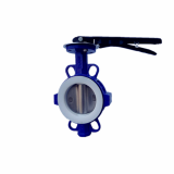 Wafer Style Split Body Butterfly Valve