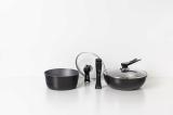 The Cookware Set _ Pot_ Frypan_ Wok_ removable handle
