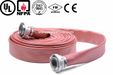 canvas fire hydrant hose material is PVC_used durable hose