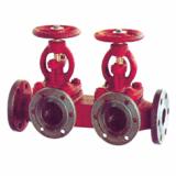 Single-row exhaust valve box